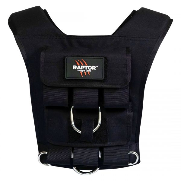 raptor elite 15 resistance training weight vest bl15b