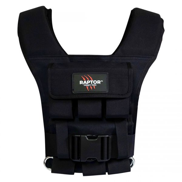 raptor elite 15 resistance training weight vest bl15f