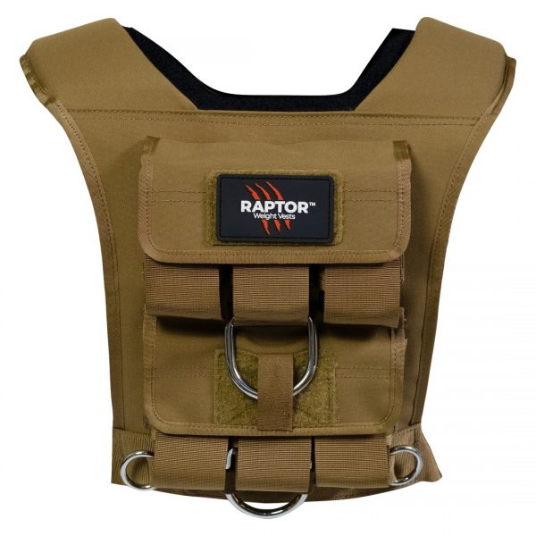 raptor elite 5 resistance training weight vest co15b