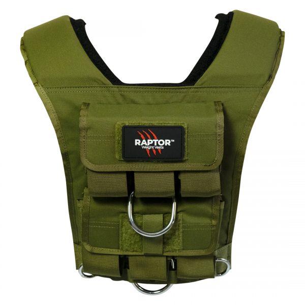 raptor elite 15 resistance training weight vest gg15b 1