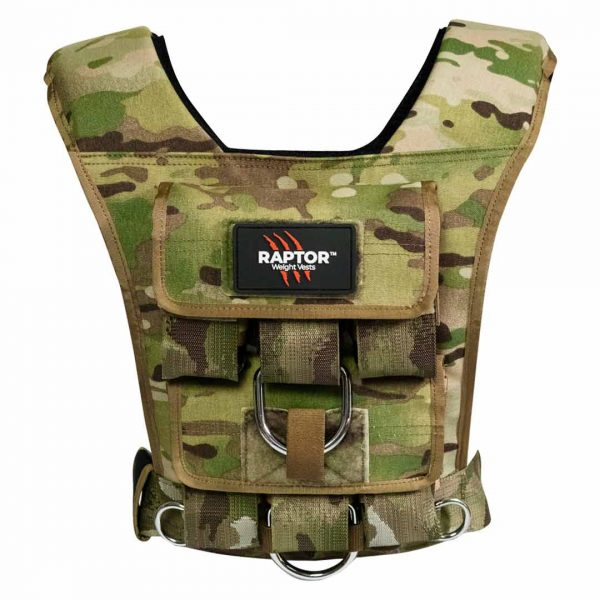 raptor elite 15 resistance training weight vest mc15b