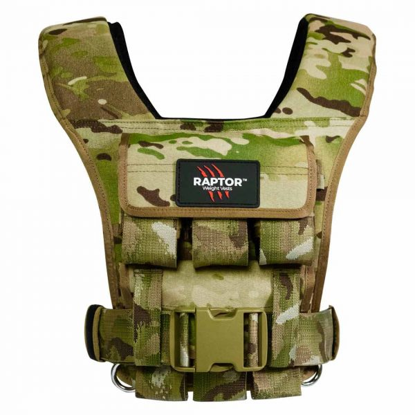 raptor elite 15 resistance training weight vest mc15f