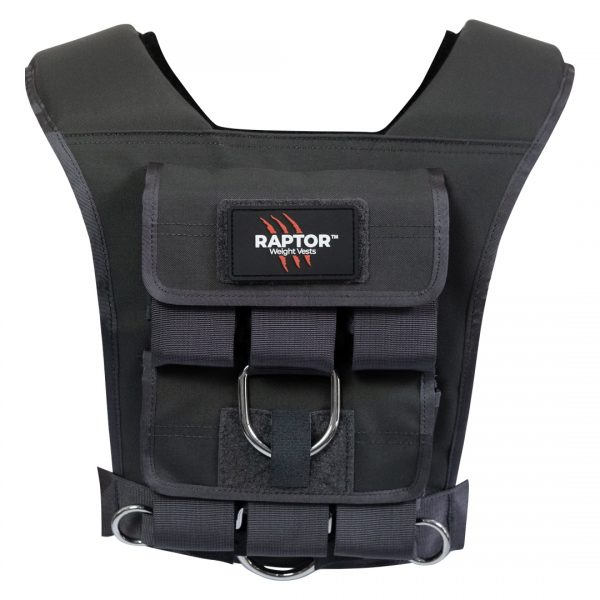 raptor elite 15 resistance training weight vest wo15b