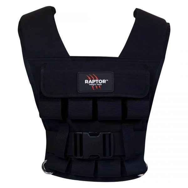 raptor elite 20 resistance training weight vest bl20f
