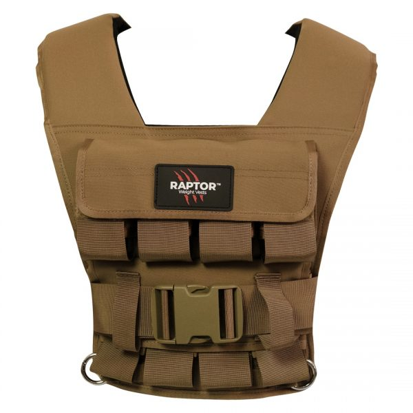 raptor elite 20 resistance training weight vest co20f