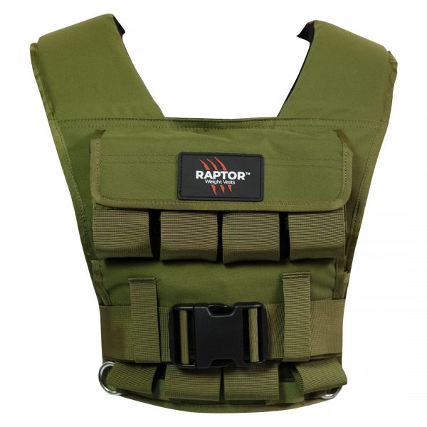 raptor elite 20 resistance training weight vest gg20f